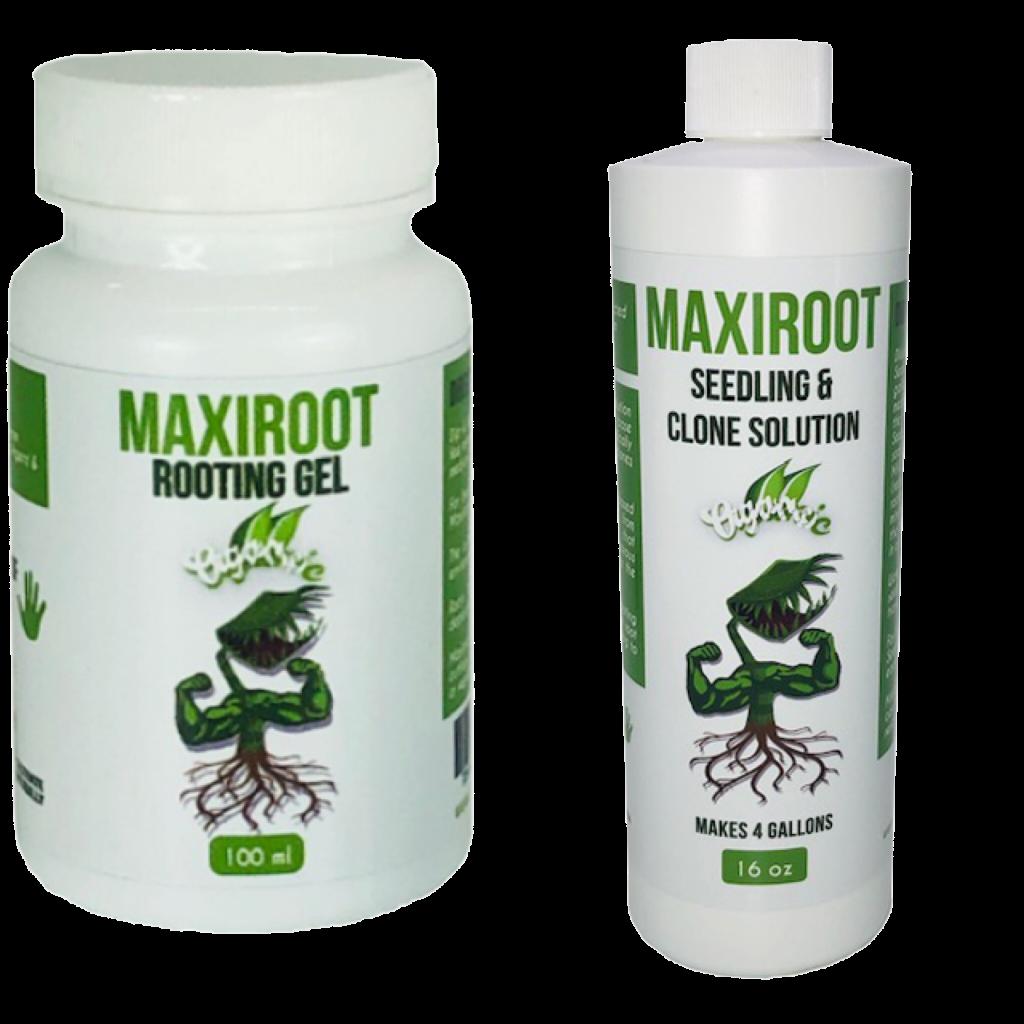 organic Rooting-Cloning Gel & Seedling-Clone Fertilizer