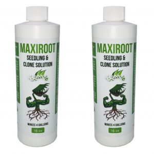 MAXIROOT Organic Seedling & Clone Solution Fertilizer (1 case of 9)