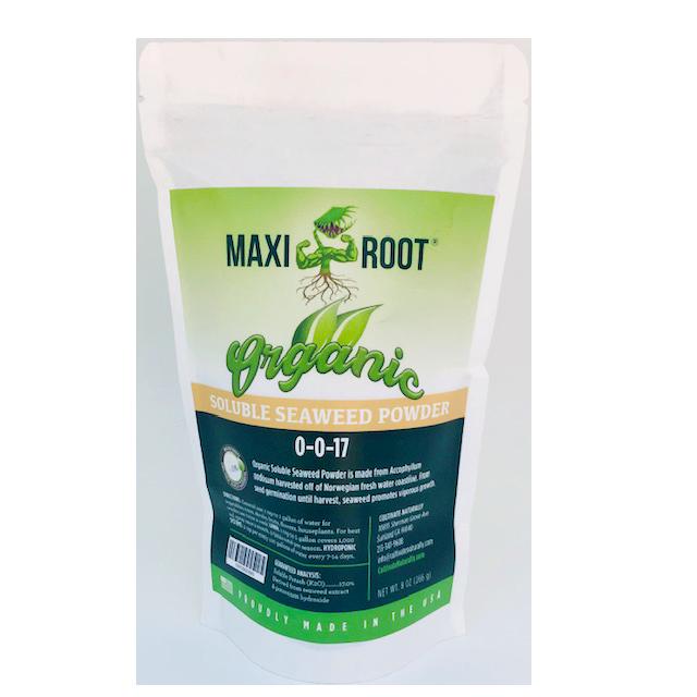Maxiroot organic seaweed powder